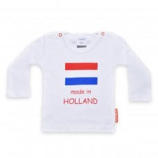 T-Shirt MADE IN HOLLAND Lange Mouw